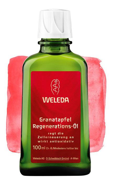 Купить Масло для тела WELEDA гранатовое восстанавливающее 100 мл, гранатовое восстанавливающее масло для тела 100 мл