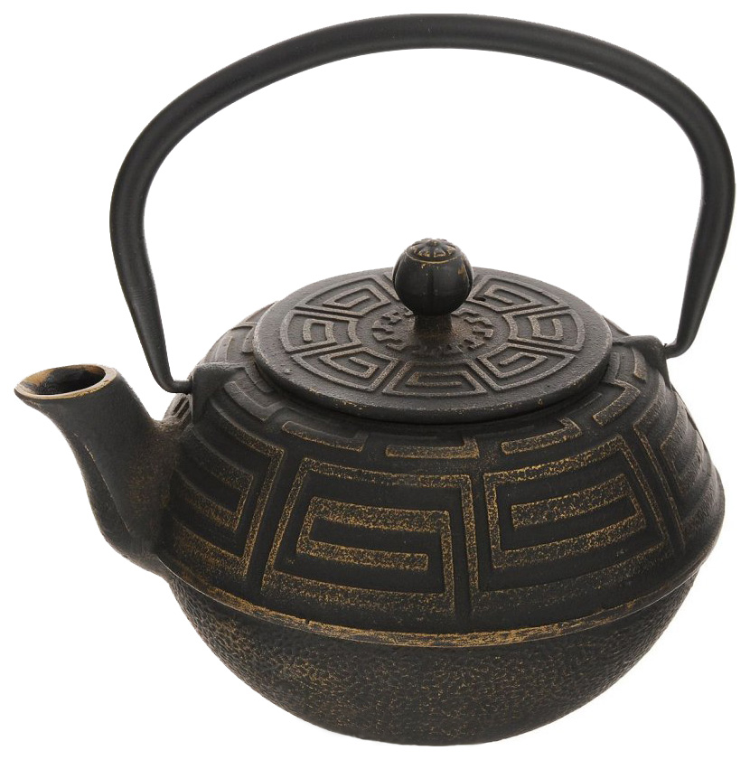 Заварочный чайник Mayer&Boch 23696 Черный, золотой