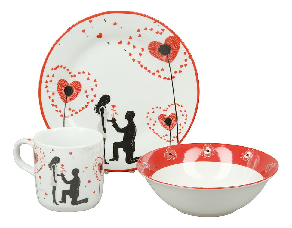 Купить Набор детской посуды 8764, Набор детской посуды, Rosenberg, Наборы детской посуды