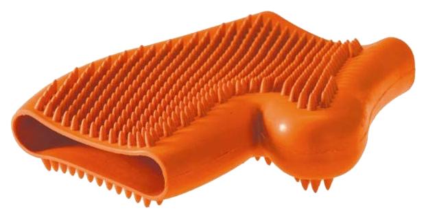 Рукавица для вычесывания HUNTER цвет оранжевый