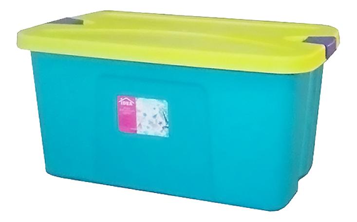 Ящик для хранения игрушек Idea Секрет бирюзовый