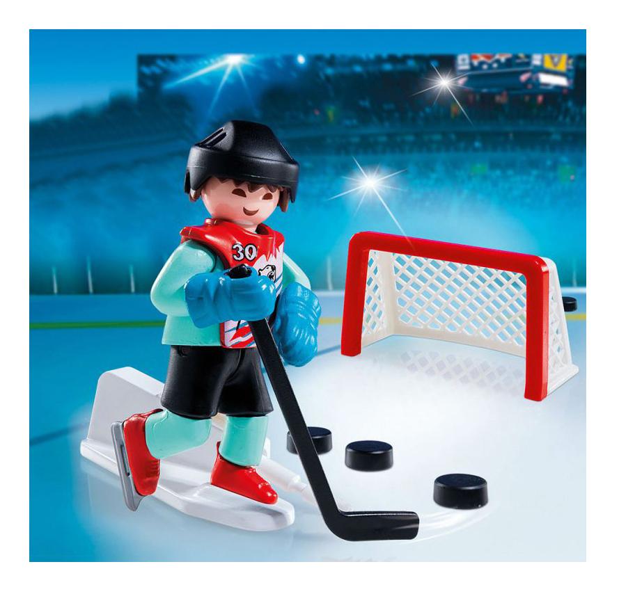 Игровой набор PLAYMOBIL Экстра-набор: Тренировка хоккей фото