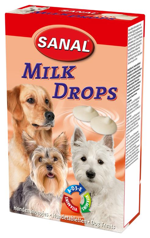 Витамины для собак Sanal Milk Drop,+ Вит.
