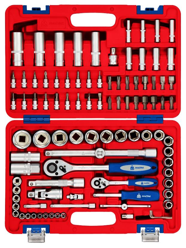 Набор столярно-слесарного инструмента МАСТАК 94 предмета 01-094C