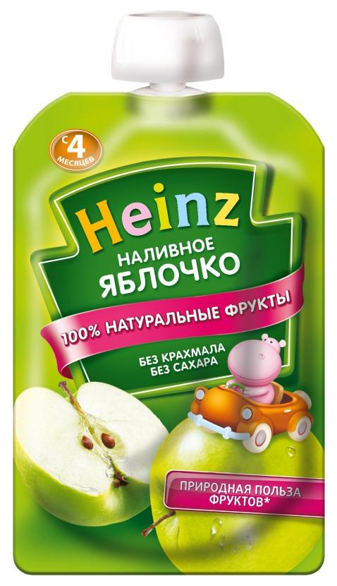 Пюре фруктовое Heinz Наливное яблочко с 4 мес 100 г