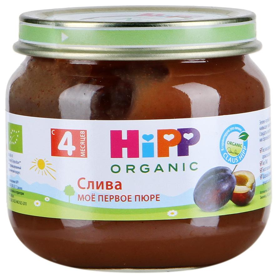 Купить Пюре фруктовое HiPP Слива с 4 месяцев 80 г, Фруктовое пюре