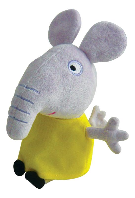 Мягкая игрушка Intertoy Свинка Пеппа Слоненок Эмили 20 см 25086 фото