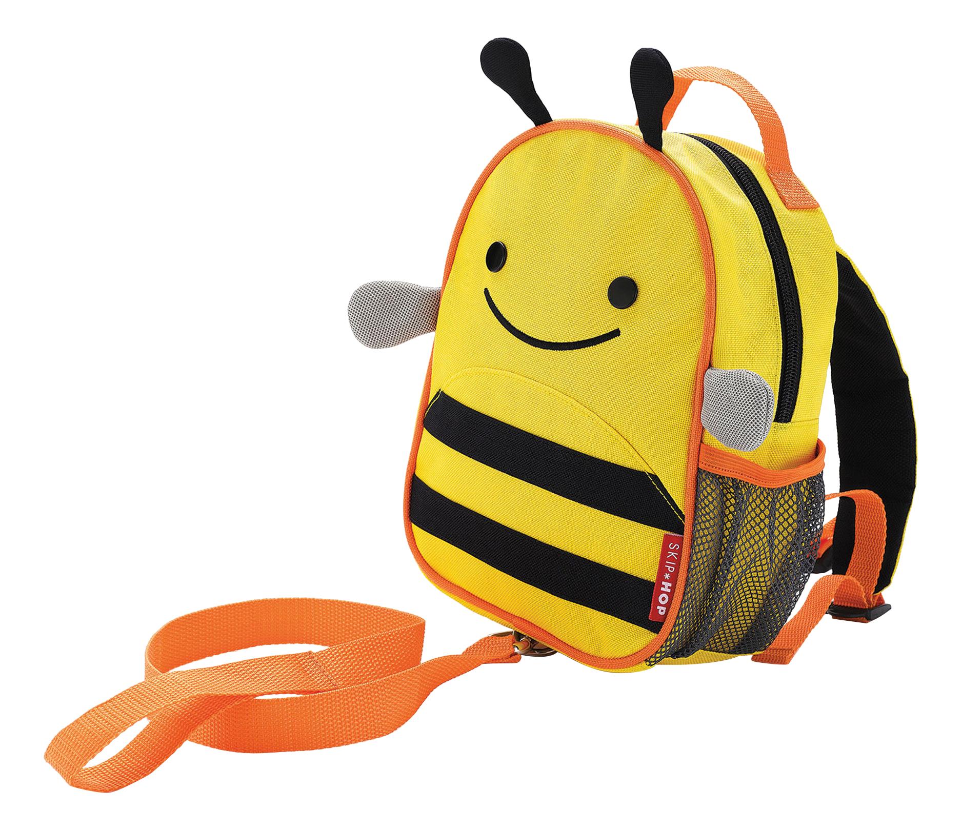 Купить Рюкзак детский Skip Hop с поводком Пчела SH 212205, Школьные рюкзаки и ранцы