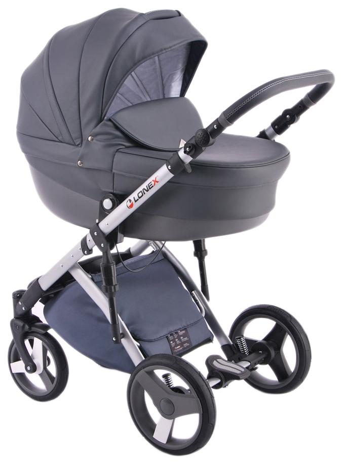 Купить Коляска 2 в 1 Lonex Comfort Special Ecco серый, Детские коляски 2 в 1