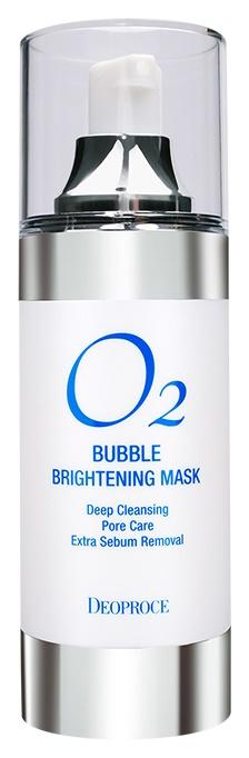 Маска для лица Deoproce O2 Bubble Brightening Mask 100 мл фото