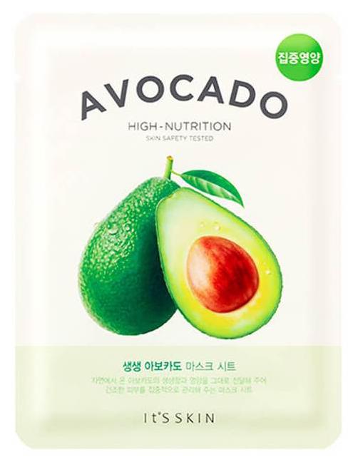 Купить Маска для лица It's Skin The Fresh Avocado Mask Sheet 21 г