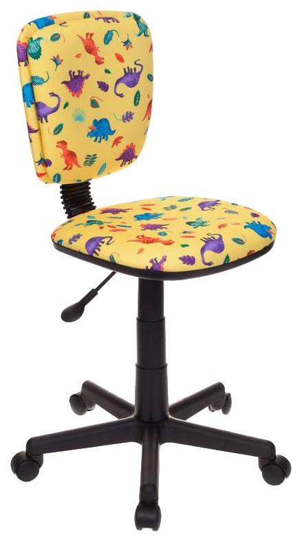Купить Кресло компьютерное Бюрократ CH-204NX/DINO-Y, Детские стульчики