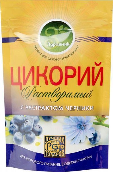 Цикорий растворимый Здравник с экстрактом черники 85 г