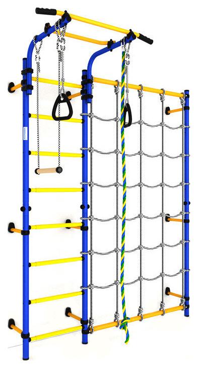 Детский спортивный комплекс Romana Karusel S3 (ДСКМ-3С-8,06,Г1,490,18-28) синяя слива
