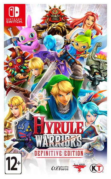 Игра Hyrule Warriors Definitive Edition для Nintendo Switch фото