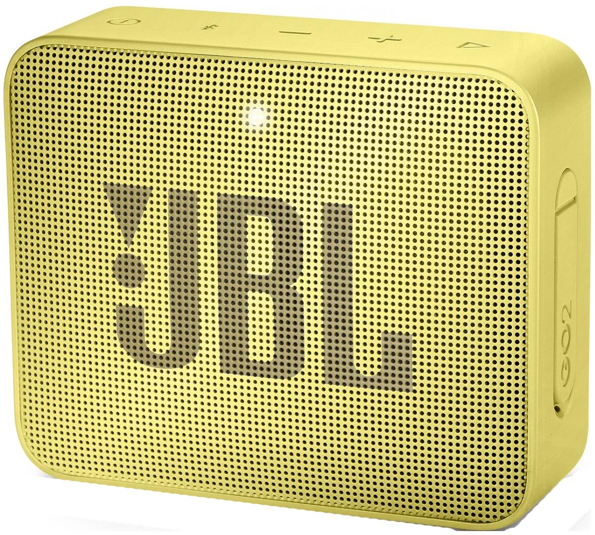 Беспроводная акустика JBL Go 2 JBLGO2YEL