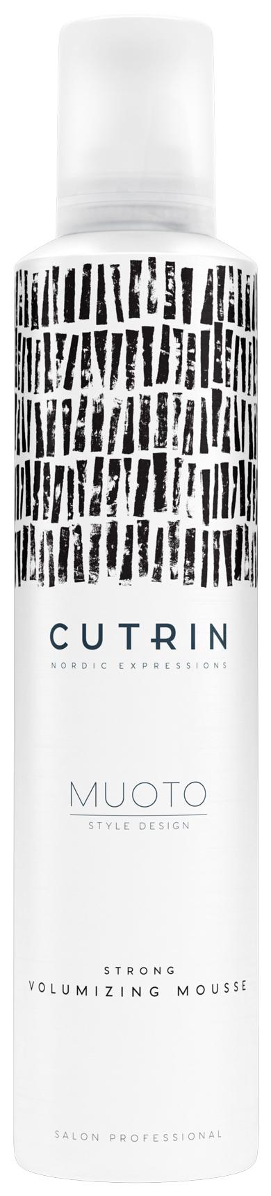 Купить Мусс для волос Cutrin Muoto Strong Volumizing Mousse 300 мл