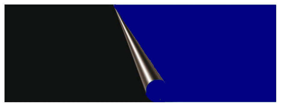 Фон для аквариума Prime Темно синий/Черный 50х100см