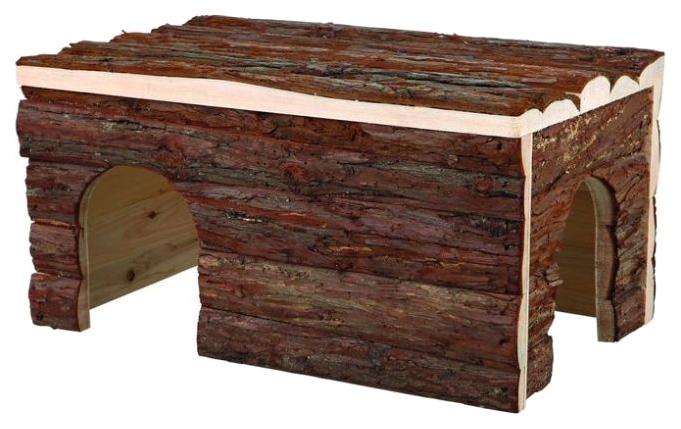 Домик для грызуна TRIXIE дерево, 28х23х45см, цвет коричневый