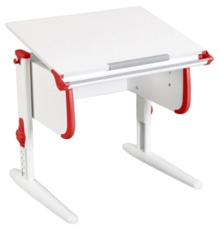 Парта Дэми White Стандарт СУТ-24 Белый/Красный