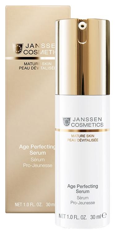 Купить Сыворотка для лица Janssen Age Perfecting Serum 30 мл, Age Perfecting Serum Anti-age разглаживающая и укрепляющая