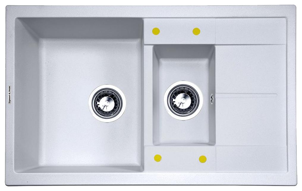 Мойка для кухни гранитная Zigmund #and# Shtain Rechteck 780,2 млечный путь