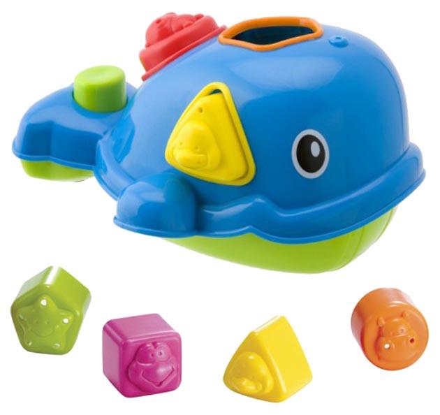 Игрушка для купания Alex Кит 837W Сортировщик, Игрушки для купания  - купить со скидкой