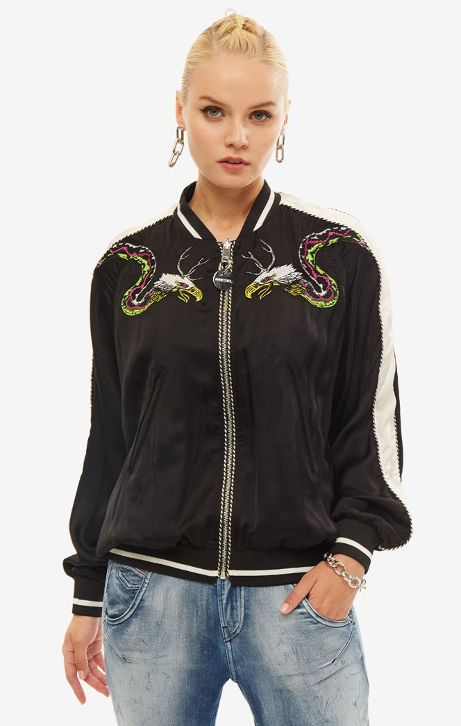 Куртка женская DIESEL черная