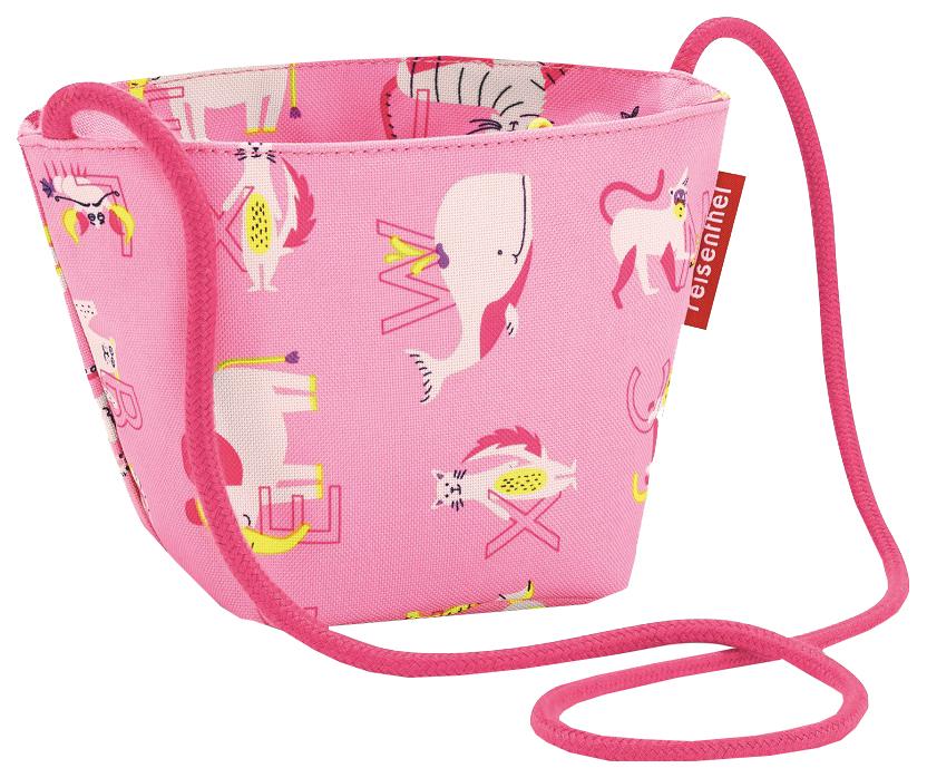 Купить Сумка детская Minibag ABC friends pink Reisenthel для девочек Розовый IV3066, Детские сумки