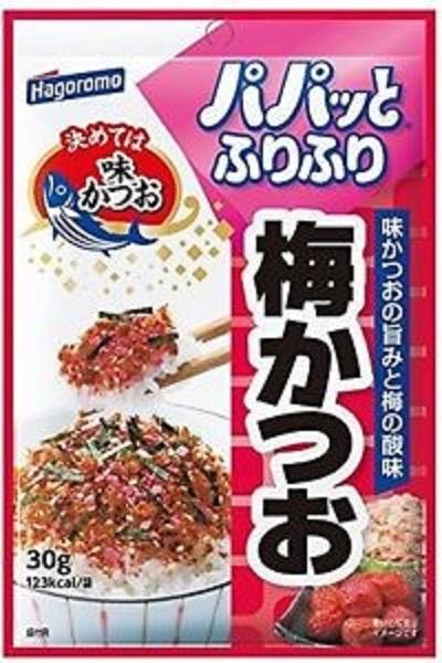 Приправа Hagormo для рисадля овощей и др круп с японской сливой и тунцом  30 г