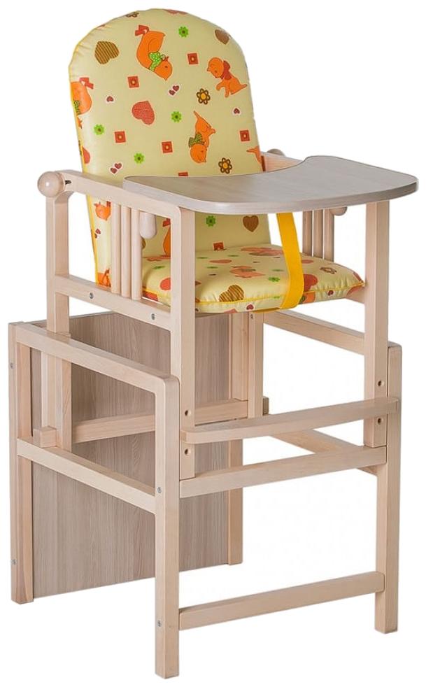 ГНОМ Стул-стол для кормления регулируемая спинка Ст-01