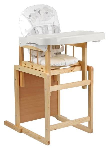 GLOBEX Стол-стул для кормления Мишутка (цвет: белый) УТ0008219