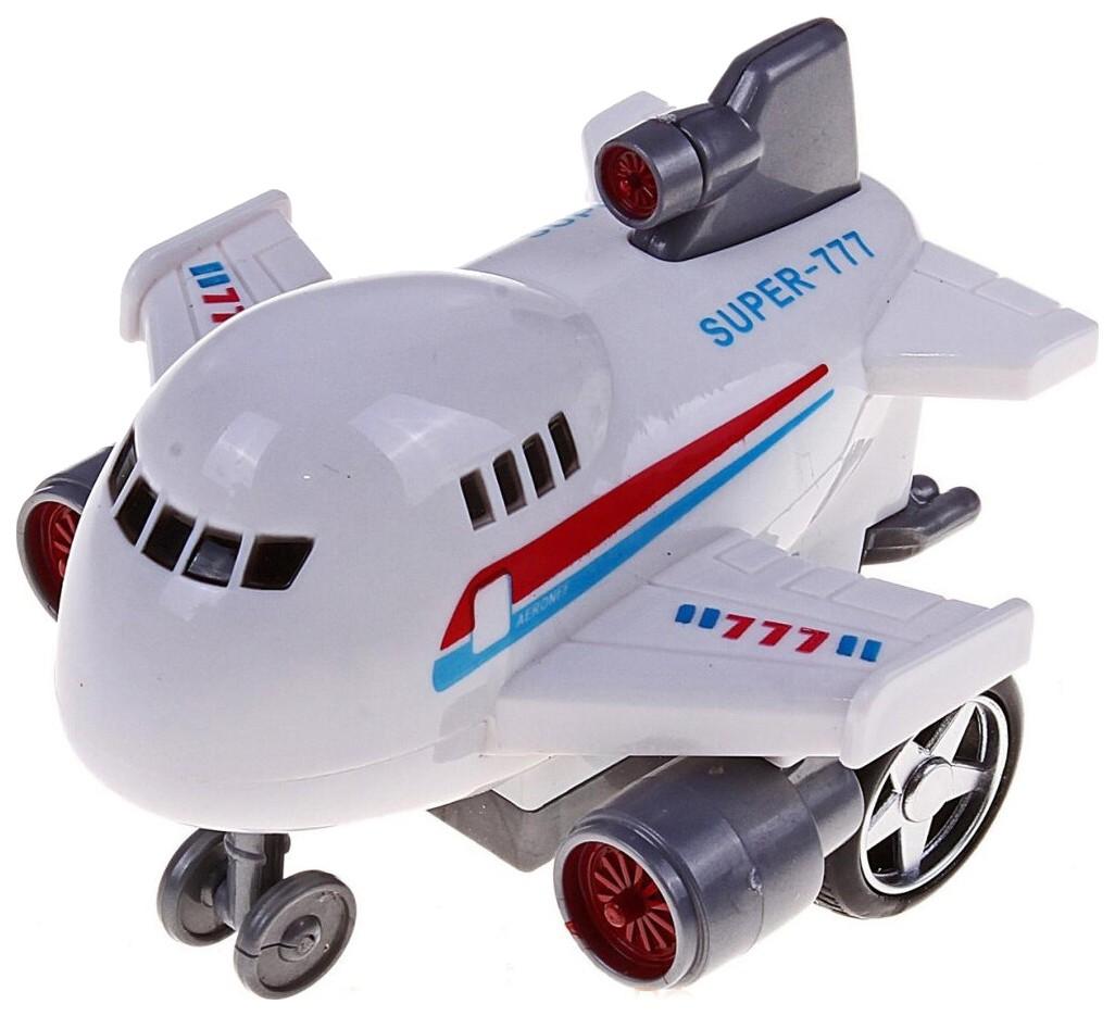 Самолет, инерционный, 9,5x10x7,8см