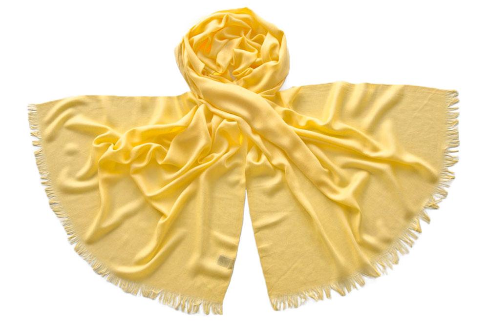 Палантин женский Tranini 1753 желтый