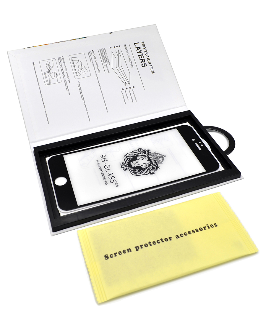 Защитное стекло Innovation для Apple iPhone 6 Black