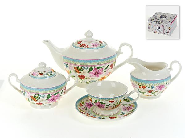 Чайный сервиз Nouvelle Восточная Лилия на 6 персон