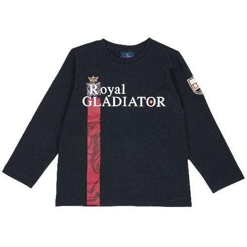 Купить 9006834, Лонгслив Chicco Royal Gladiator для мальчиков р. 116 цв.темно-синий,