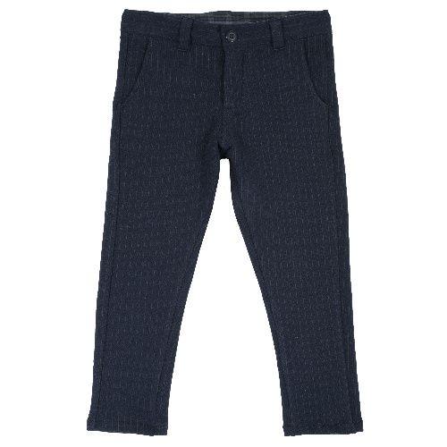 Купить 9024852, Брюки Chicco для мальчиков р.92 цв.темно-синий, Детские брюки и шорты
