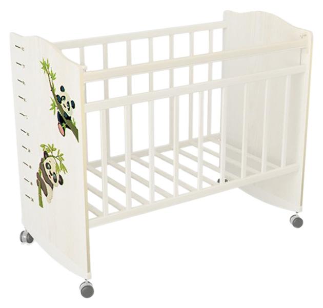 Кровать детская ВДК Морозко. Панды бежевый слоновая кость