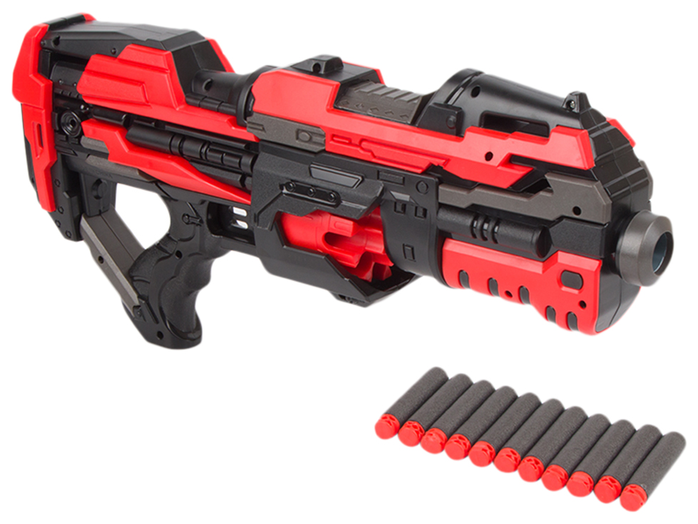 Бластер G blast Rezolver, с мягкими пулями, 45x7x21 см