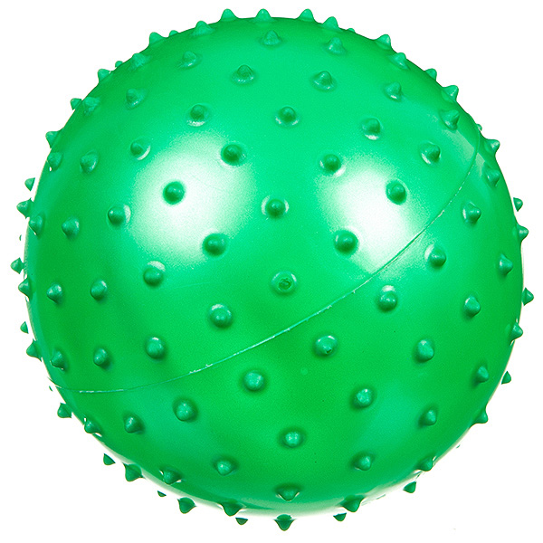 Мяч массажный Shenzhen Toys, зеленый, 13 см