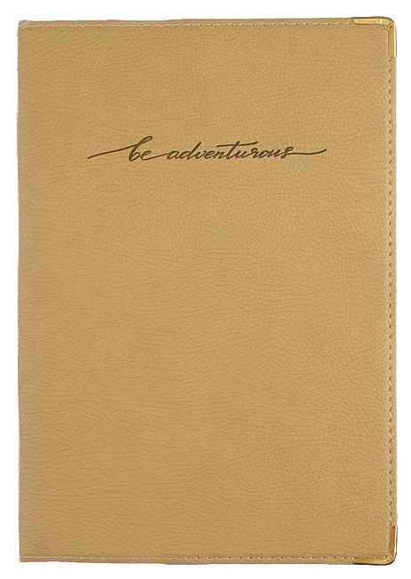 Ежедневник недатир. А5, 160 лист. deVENTE Orto, иск.кожа, тонированный блок...