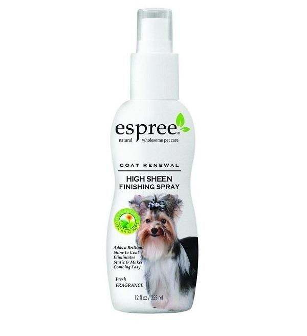 Спрей Espree CR High Sheen Finishing Spray для блеска шерсти собак и кошек 355 мл.