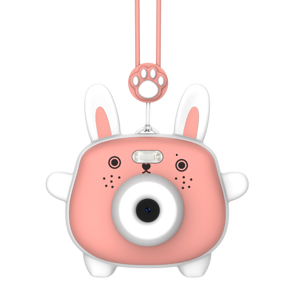 Детский Фотоаппарат Lumicube Lumicam Dk02 Rabbit Розовый фото