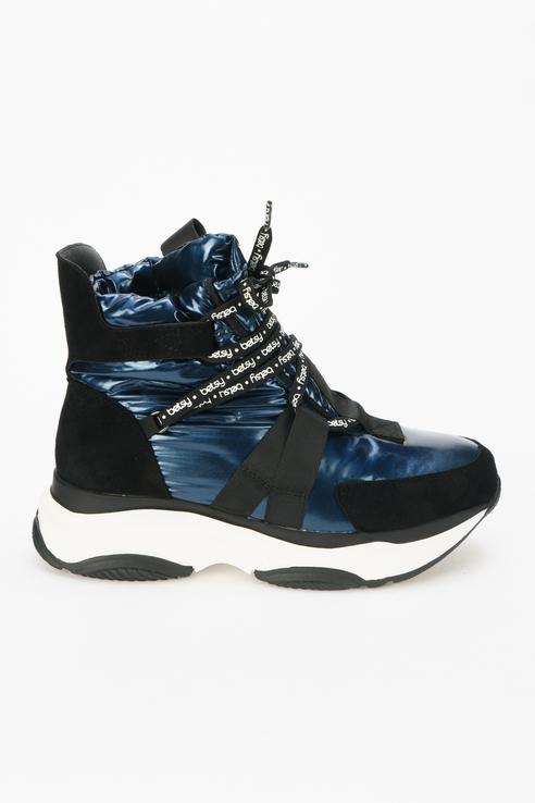 Ботинки женские Betsy 998712 синие 36 RU