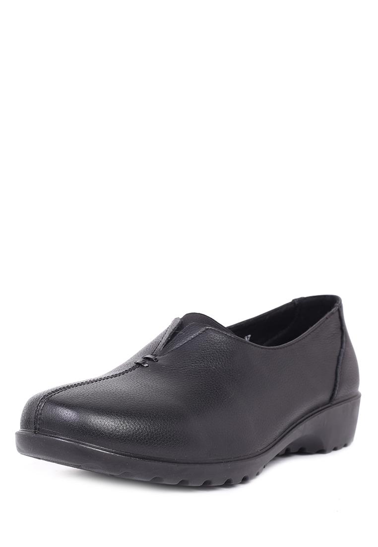 Полуботинки женские Alessio Nesca Comfort 02306800 черные 41 RU