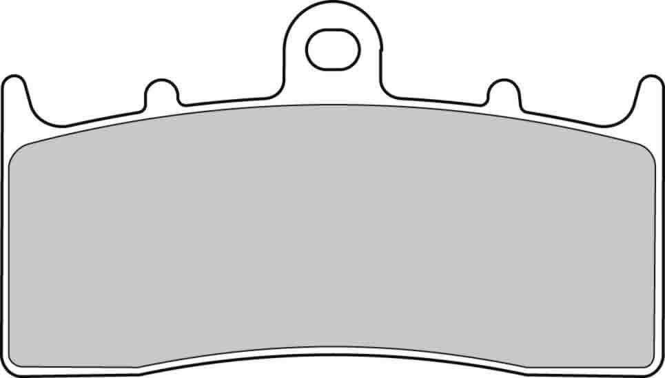 Тормозные колодки передние Ferodo FDB2124ST для мотоциклов