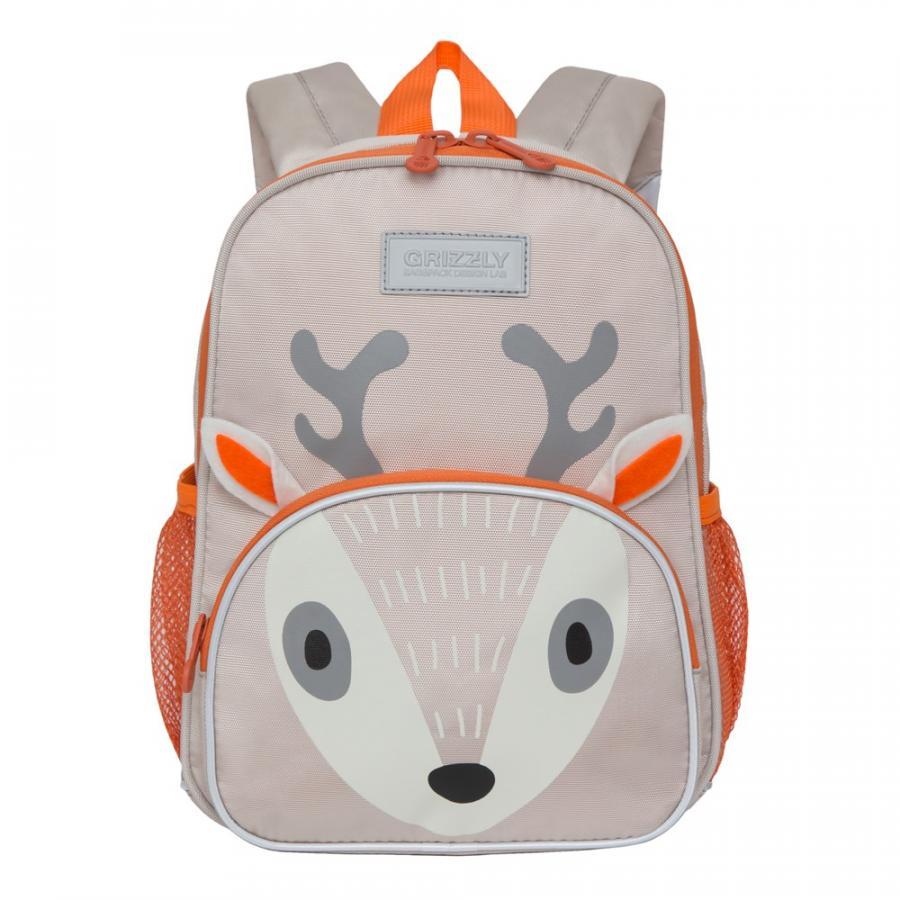 Рюкзак детский Grizzly для мальчика олень