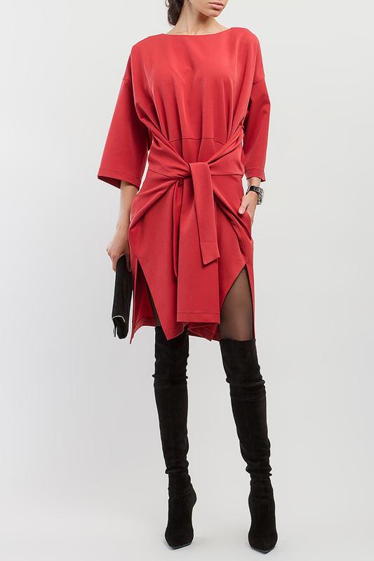 Платье женское BGL PL 8630/15464 красное 46 RU фото