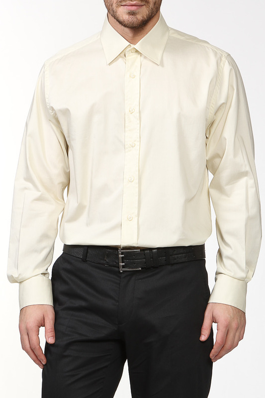 Рубашка мужская REIKARTZ SLIM FIT 81233-20 желтая 41 RU